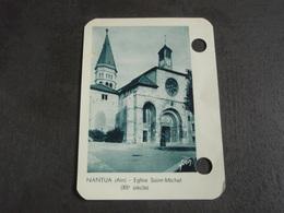 Feuille Extraite Ephéméride NANTUA (Ain) Eglise Saint-Michel (XII° Siècle) - Vieux Papiers