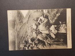 Im Schützengraben Feldpostkarte  (gelaufen 1915); H24 - Guerra 1914-18