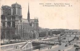 Carte Postale PARIS (75) Cathédrale Notre-Dame (Eglise-Religion)  4 ème Arrondissement - Chiese