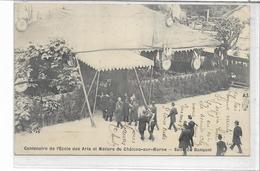 51 CHÄLONS-SUR-MARNE . Centenaire De L'Ecole Des Arts Et Métiers ,salle De Banquets , édit : Lagrange , état SUP - Châlons-sur-Marne