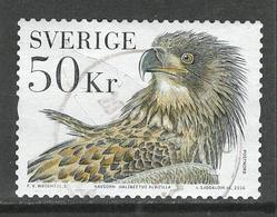 Zweden, Yv 3065 Jaar 2016, Hoge Waarde, Roofvogels,  Gestempeld, Zie Scan - Suède