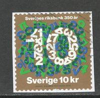 Zweden, Yv 3194 Jaar 2018,   Gestempeld Op Papier - Suède