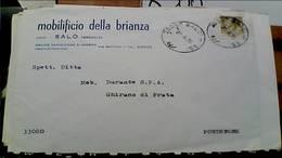 SALO DITTA MOBILI MOBILIFICIO DELLA BRIANZA  BUSTA  VB1970 HB9225 - Brescia