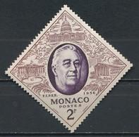 °°° MONACO - Y&T N°445 - 1956 MNH °°° - Monaco