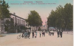 57 - THIONVILLE - MARCHAND DE GLACES ET ANIMATION DEVANT LA KOMMANDANTUR - Thionville