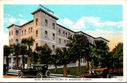 Florida St Augustine Hotel Marion On The Bay 1932 Curteich