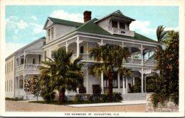 Florida St Augustine Hotel Kenwood 1942 Curteich