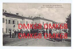 PONTE CHASSO ( COMO ) CONFINE ITALO SVIZZERO - TRAM PER COMO - EDIZ. VENDRAMINI - 1907 (3200) - Como