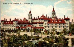 Florida St Augustine Hotel Ponce de Leon 1914 Curteich