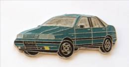 Pin's FIAT TEMPRA Bleu Vert - I229 - Fiat