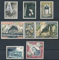°°° MONACO - APPARIZIONE DI LOURDES - 1958 MNH °°° - Monaco
