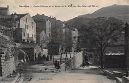 CPA Sartène - Cours Chiappe Et La Sortie De La Ville Par Ste-Anne ( Alt 300m ) - Sartene