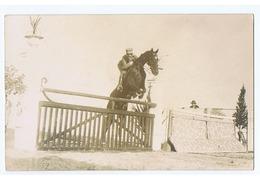 STRESA ( VERBANIA ) IV CONCORSO IPPICO / RIDE HORSE - 26 SETTEMBRE 1925 - CARTOLINA FOTOGRAFICA  (3205) - Verbania