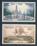 °°° MONACO - Y&T N°69/70 PA - 1958 MNH °°° - Monaco