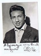 MIKE BUONGIORNO - CARTOLINA CON AUTOGRAFO / AUTOGRAPH - Autographs