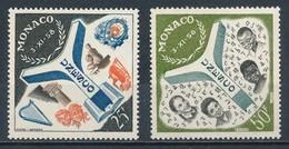 °°° MONACO - Y&T N°511/12 - 1959 MNH °°° - Monaco