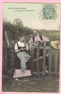 La Vie Aux Champs - Le Lagage Des Marguerites - 1906 - Seine Et Oise - Humour