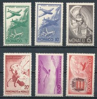 °°° MONACO - Y&T N°2/7 PA - 1941 MNH °°° - Monaco
