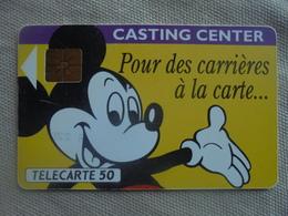 Télécarte 50 Unités Casting Center 11/91 - Disney