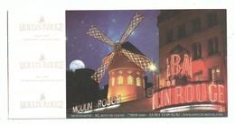 Ticket D'entrée Paris Cabaret Du Moulin Rouge Bal Revue Féerie French Cancan   Show Champagne  -2018 - Biglietti D'ingresso