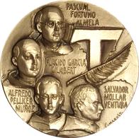 MEDALLA BEATIFICACIÓN MÁRTIRES HERMANOS MENORES FRANCISCANOS. VALENCIA 2001. METACRILATO. ESPAGNE. SPAIN MEDAL - Profesionales/De Sociedad