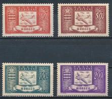 °°° MONACO - Y&T N°15/18 PA - 1946 MNH °°° - Monaco