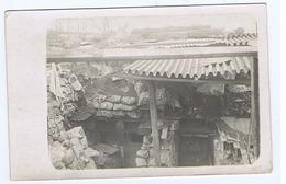 SAN MARTINO DEL CARSO ( GORIZIA ) RICOVERI PER COMANDO BATTAGLIONE 30 FANTERIA - CARTOLINA FOTOGRAFICA - 1916 ( 3207 ) - Guerra 1914-18