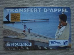 Télécarte 50 Unités Transfert D'appel 11/92 - Telecom Operators
