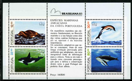 PORTUGAL 1993 (Block 41) Marine Life Whales Dolphins S\sh  MNH**  13.00 € - Baleines