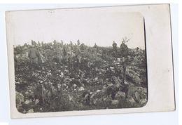 SAN MARTINO DEL CARSO ( GORIZIA ) TRICEE - CARTOLINA FOTOGRAFICA - 1916 ( 3208 ) - Guerra 1914-18