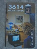 Télécarte 50 Unités 3614 France Télécom 09/92 - Telecom Operators