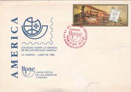 AMERICA UPAEP COLOQUIO SOBRE EMISION DE SELLOS POSTALES-SPC HABANA 1988 - BLEUP - Cuba
