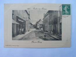 Cpa Animée,Devanture - 71 TOULON -sur - ARROUX  - (Saône & Loire)  - Rue De Paray - Autres Communes