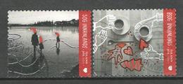 Ijsland, Yv 1407-08 Jaar 2015,  Gestempeld - 1944-... Republique