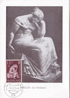 MAILLOL(LA DOULEUR-CARD OBLITEREE 1960 NEDERLAND - BLEUP - Escultura