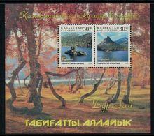 Kazakhstan 1998 // Parc Nationaux Bloc-feuillet Neuf ** - Kazakhstan
