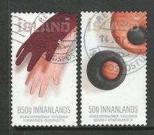 Ijsland, Yv 1445-46 Jaar 2017,  Gestempeld - 1944-... Republique