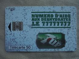 Télécarte 50 Unités 7UP 1924 08/98 - Publicité