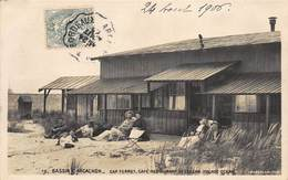 CPA BASSIN D'ARCACHON - Cap Ferret - Café Restaurant De L'Ocean ( Façade Ocean ) - Arcachon
