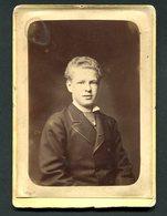 Fotografia Antiga D.AFONSO BRAGANÇA, Duque Do Porto. Atelier FRITZ Lisboa. Old CABINET PHOTO Portugal 1880 - Photos