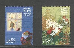 Ijsland, Yv 1469-70 Jaar 2017,  Gestempeld - 1944-... Republique