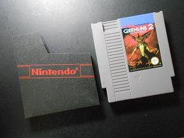 Nintendo NES - GREMLINS 2 - Gebraucht - PC-Spiele