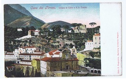 CAVA DE' TIRRENI - CORPO DI CAVA E S.S. TRINITA - EDIZ. RAGOZINO 1900s ( 3212 ) - Cava De' Tirreni