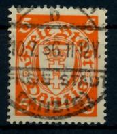 DANZIG Nr 193xb Zentrisch Gestempelt X6D14D6 - Danzig