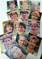 Folhetos/recortes De Jornal/revista De Antigos Futebolistas (13) E Tenistas (7) - Old Soccer Players (13) And Tennis Pla - Unclassified