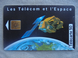Télécarte 50 Unités Les Télécom Et L'Espace 10/97 - Telefoni