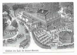 CPM Paris XII Bois De Vincennes Restaurant Dancing Le Câlet Du Lac De Saint Mandé - Hotels & Gaststätten