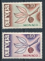 °°° MONACO - Y&T N°675/76 - 1965 MNH °°° - Monaco