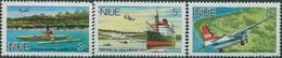 Niue 1970 SG155-157 Airport Set MNH - Niue