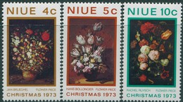 Niue 1973 SG179-181 Christmas Set MNH - Niue